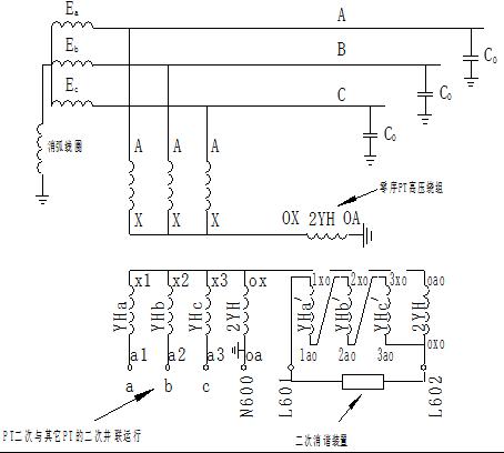 对于4pt的接线方式,当被测的三相对地电容小于10微法时(10kv电容