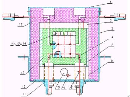 tcd检测器结构示意图