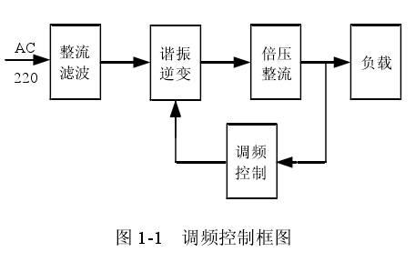 由于输出电压较高,很少采用电感电容lc滤波,而是普遍利用电容一阶滤波