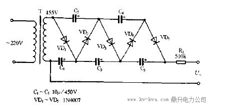 直流高压发生器电路原理框图|华意电力