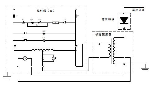 干式試驗變壓器工作原理圖